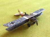 German Albatros biplane