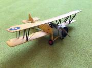 RAF Avro Tutor biplane