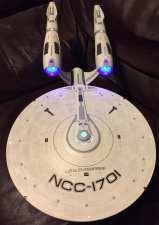 Illuminated Star Trek USS Enterprise