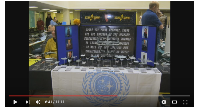 WATCH: Our display featured in Sci-Fi & Fantasy SIG's ModelKraft video