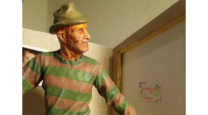 Freddy Krueger pops by!