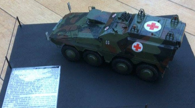 GTK Boxer sgSanKfz armoured ambulance