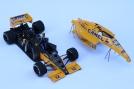 Formula 1 Lotus-Honda 99T from 1987, built by James Clarke.