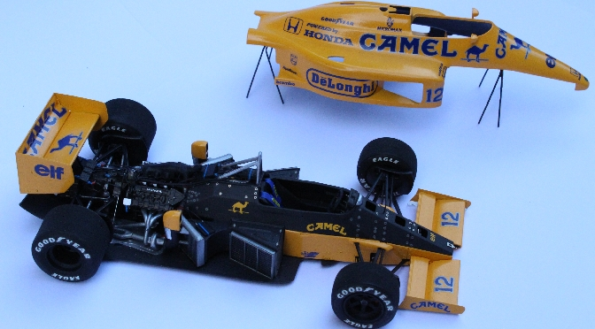 Camel Team Lotus-Honda 99T