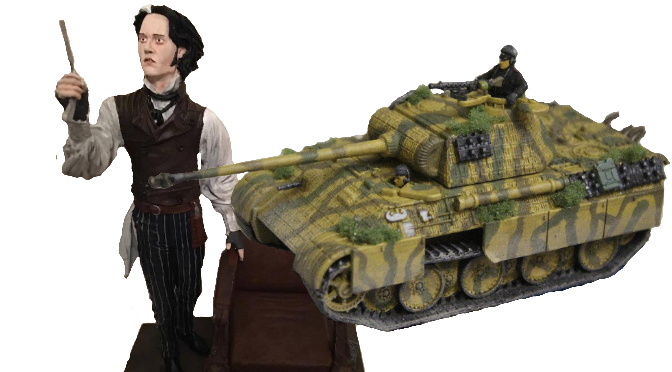Unusual Couples: Sweeney Todd and a Panzer III