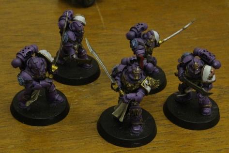 Emperor's Children Legion Palatine Blades Squad