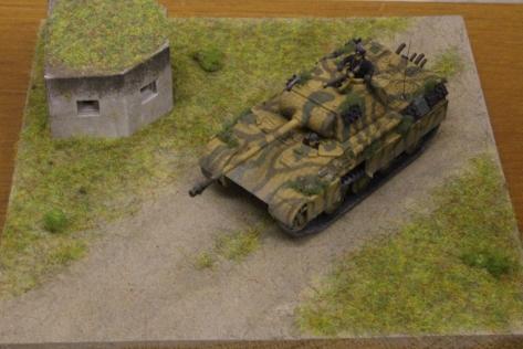 Panzer III diorama